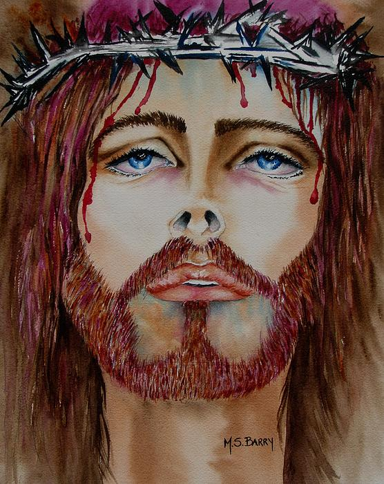 Pictures Of Jesus. Shades of Jesus Painting