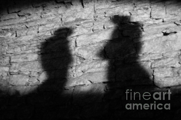 Shadow On The Wall Photograph  - Shadow On The Wall Fine Art Print