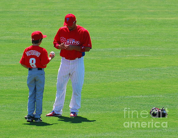 Shane Victorino  Photograph  - Shane Victorino  Fine Art Print