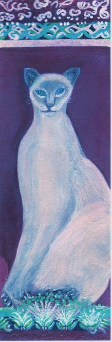 Anne-Elizabeth Whiteway - Siamese If You  Please Blue
