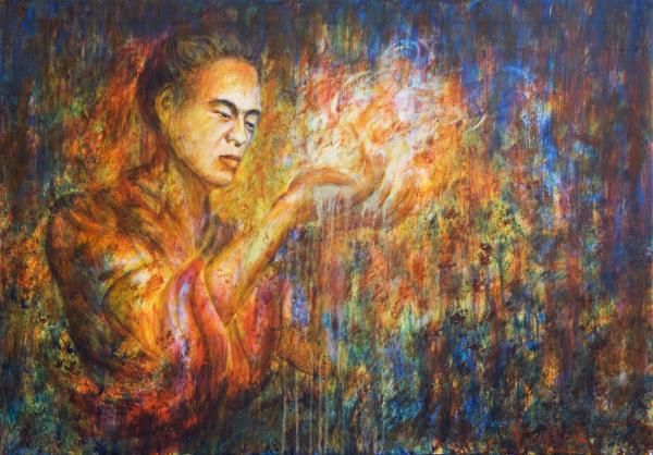 Spiritual Cleansing Painting by Nik Helbig - Spiritual Cleansing ...