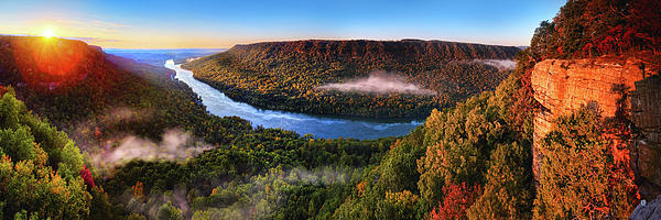 Sunrise In The Gorge Photograph  - Sunrise In The Gorge Fine Art Print