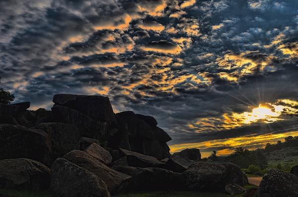 Dave Sandt - Sunrise over Little Round Top