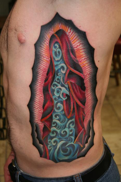 Tattooed Water By Brandon Notch Photograph by Brandon Notch