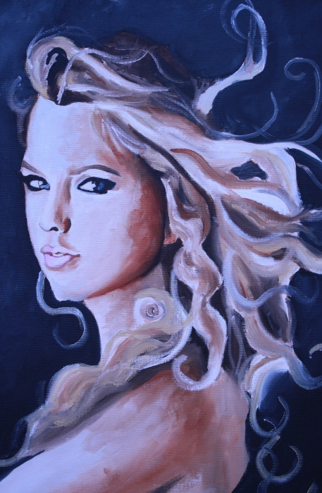 Taylor Swift Posters To Print. Taylor Swift Portrait Painting