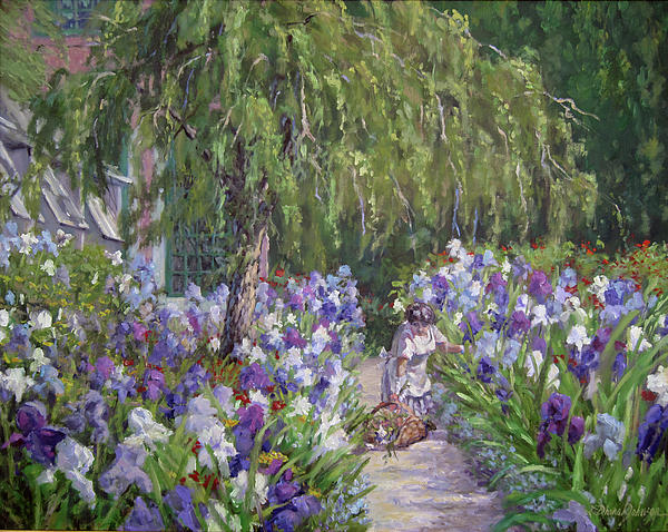 Tending The Masters Garden Painting - Tending The Masters Garden Fine ...