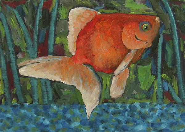 goldfish bowl. The Goldfish Bowl Painting