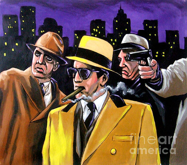 The New Boss In Town Painting  - The New Boss In Town Fine Art Print
