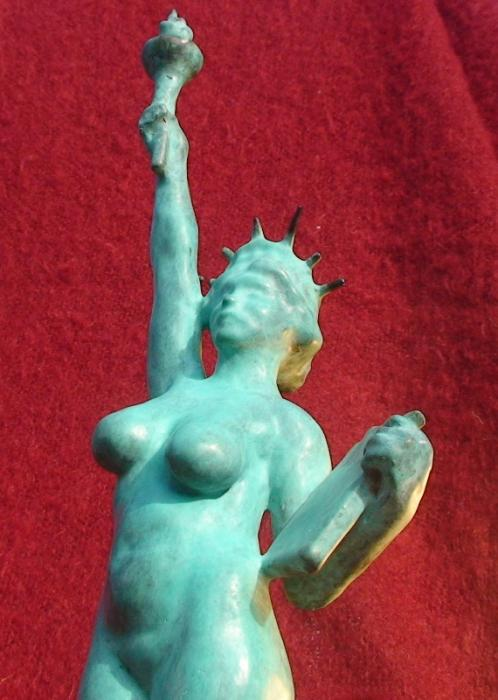 Statue of liberty naked hentai video was