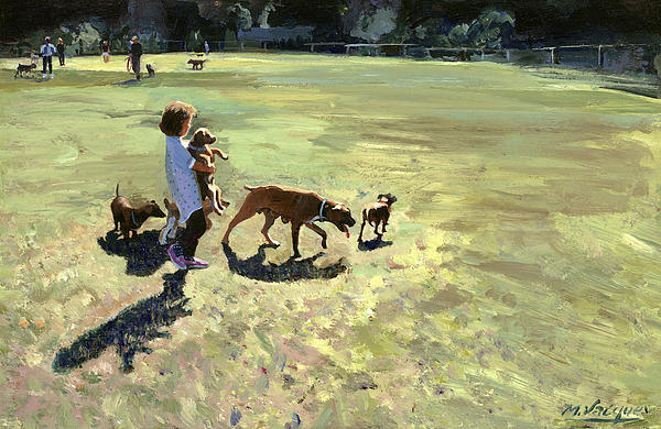 The Pet Parade Painting