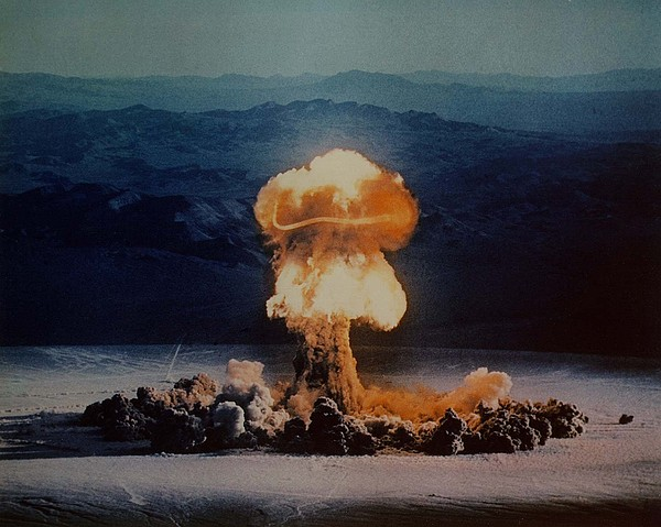 History Photograph - The Priscilla Shot Was A 37 Kiloton by Everett