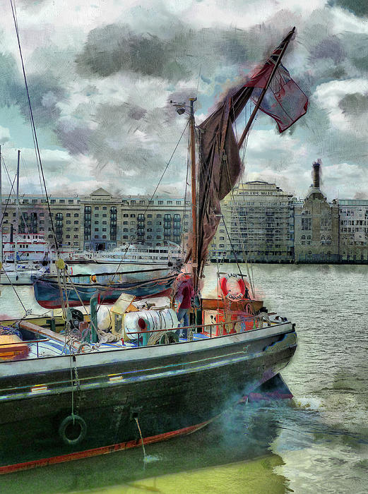 Steve Taylor - The Sailing Barge Lady Daphne