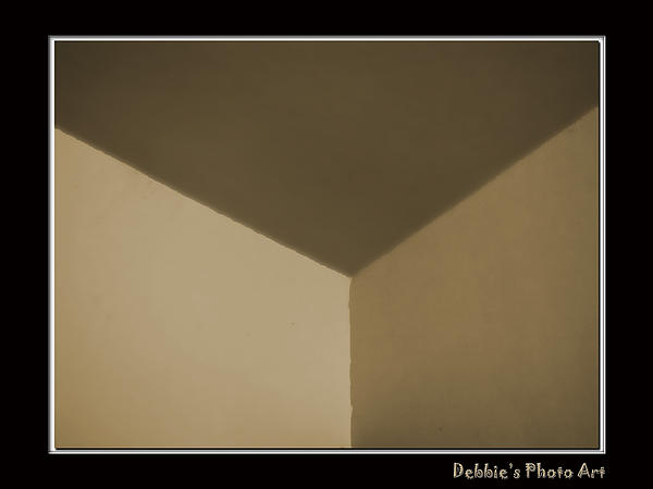 Debbie Portwood - Think outside or inside the box    Optical illusion