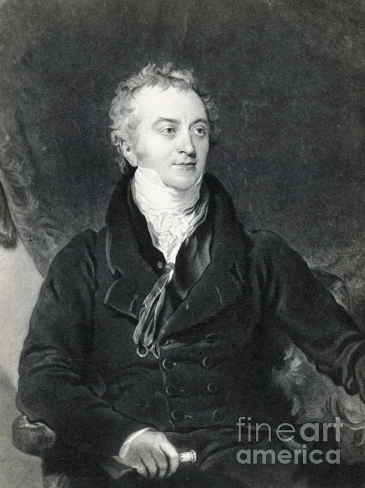 Science Photograph - Thomas Young, English Polymath by Photo Researchers