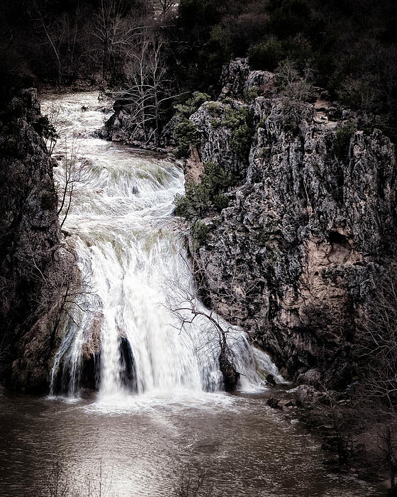 Turner Falls Roar Photograph  - Turner Falls Roar Fine Art Print