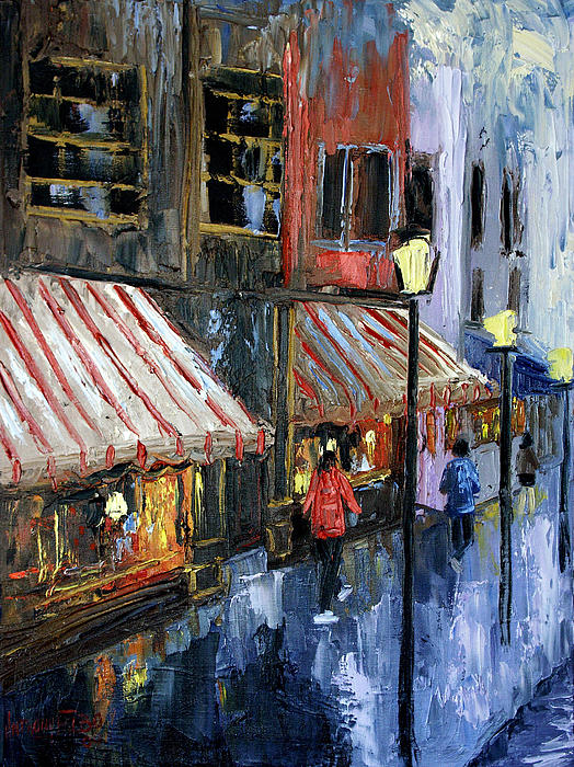 Twelve Street And Rine Framed Prints Painting - Twelve Street And Rine by Anthony Falbo