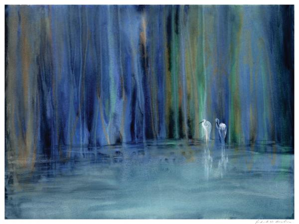 Rod MacIver - Two Egrets