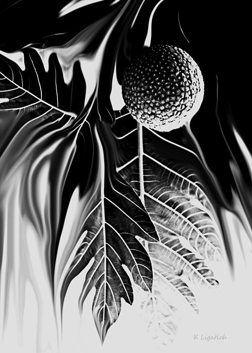 Kerri Ligatich - Ulu - Breadfruit Abstract