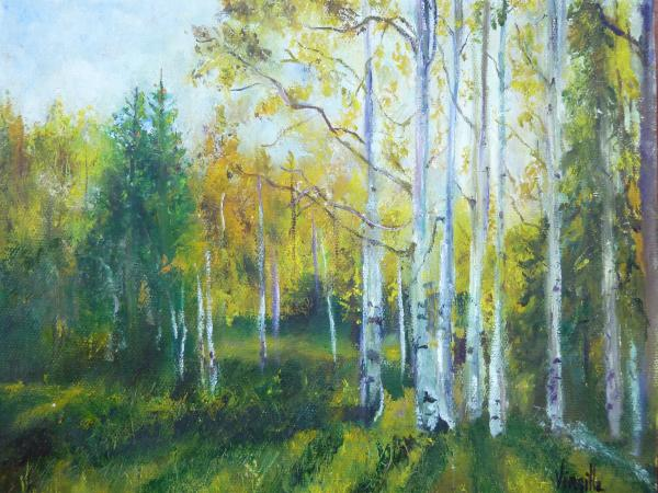art paintings of trees. Vibrant Landscape Paintings