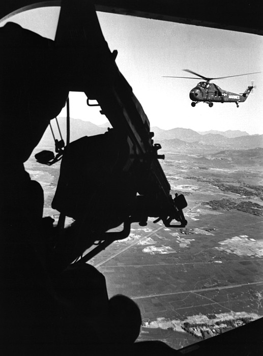 History Photograph - Vietnam War. Us Army Helicopter by Everett