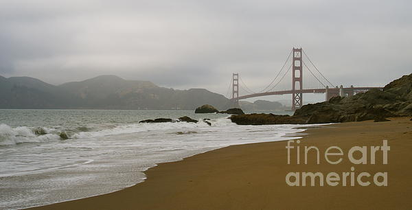 Necie Art - View from Baker Beach