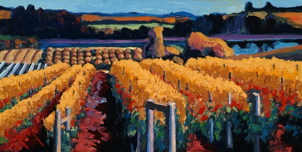 Christopher Mize - Vineyard Light