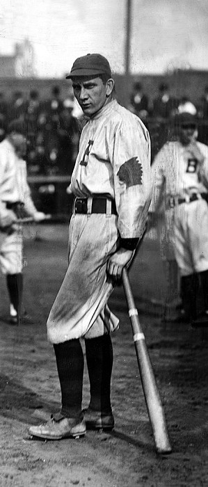 Baseball Photograph - Walter Manville Known As Rabbit by Everett