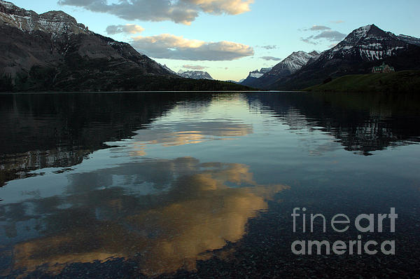 Vivian Christopher - Waterton Lake Sunset Canada