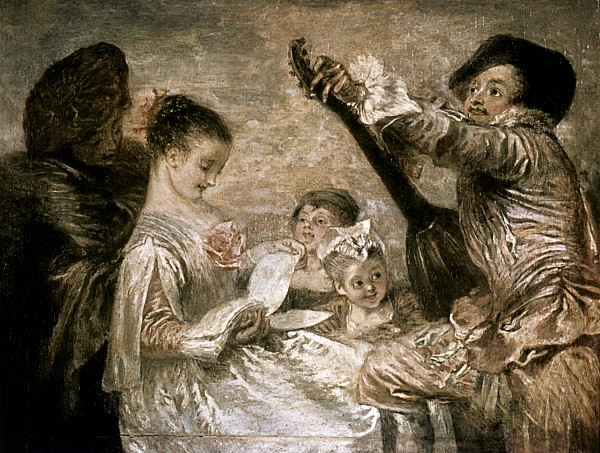 1717 Photograph - Watteau: Music by Granger