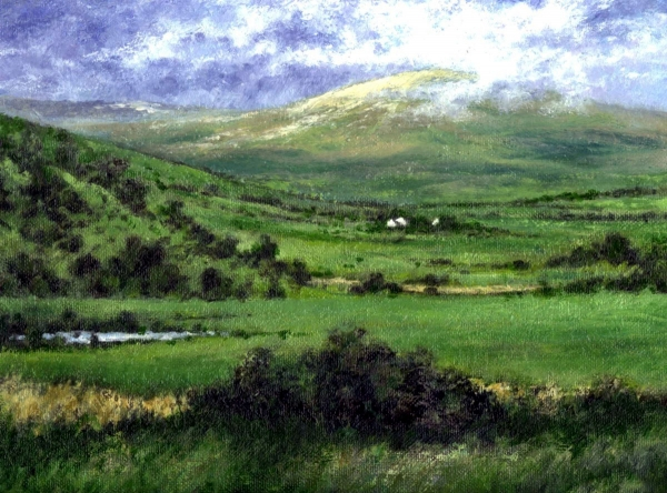 Way to Ardara Ireland Painting - Way to Ardara Ireland Fine Art Print