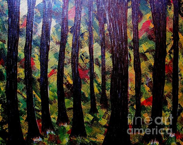 Priyanka Rastogi - Whimsical Painting-whimsical Forest