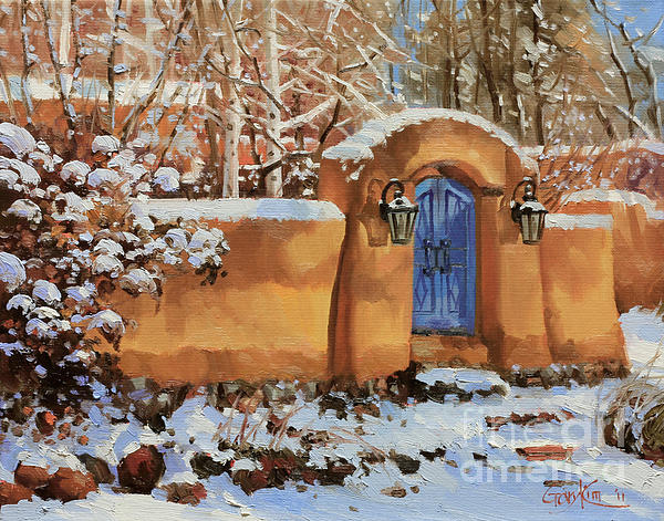 Gary Kim - Winter Beauty of Santa Fe
