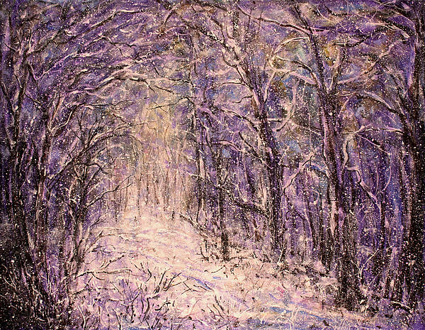 Winter Magic Painting  - Winter Magic Fine Art Print