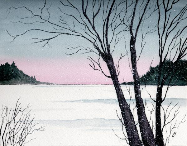 Brenda Owen - Winter On The Lake