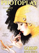 The Advertising Archives -  1920s Usa Photoplay Lipsticks Putting