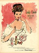 Thirties Drawings Posters -  1930s Usa Yanky Clover Make-up Makeup Poster by The Advertising Archives
