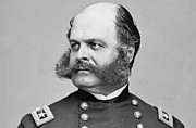 Ambrose Burnside Prints -  General Ambrose Burnside Gave birth to the name Sideburns  Print by David Call