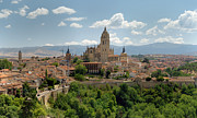 Tower Photos -  Segovia Cathedral by Viacheslav Savitskiy