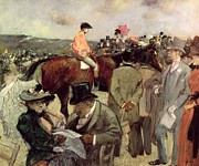 Horse Race Paintings -  The Horse Race by Jean Louis Forain