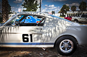 1965 Mustang Framed Prints - 1965 Ford Shelby Mustang  Framed Print by Rich Franco