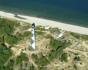 James Lewis - Aerial of Cape Lookout Lighthouse