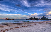 Beach Prints - Ao Manao Bay Print by Adrian Evans