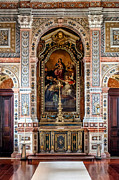 Religious Photos - Baroque Sacristy by Jose Elias - Sofia Pereira