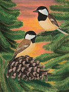 Jeanette Kabat - Black-capped Chickadee