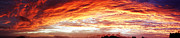 Sky Fire Prints - Bright summer sky Print by Les Cunliffe