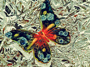 Elton John Digital Art - Butterflies are Free to Fly by JP  McKim