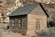 One Room School Houses Posters - Frutia Schoolhouse Capitol Reef National Park Utah Poster by Jason O Watson