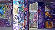 Tag Artist Posters - Graffiti alley Poster by Sharon Lisa Clarke