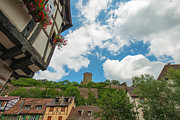 Alsace Framed Prints - Historical town of Kaysersberg in the Alsace Framed Print by Jan Marijs