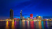 Fototrav Print - Ho Chi Minh City Night Skyline